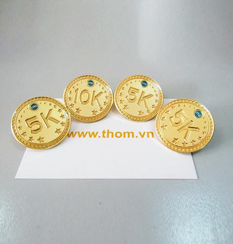 Huy hiệu đồng Gia Công và Sản Xuất Công ty Rồng Vàng 2