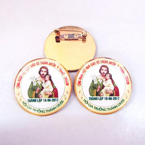 Huy hiệu đồng Gia Công và Sản Xuất Công ty Rồng Vàng 1